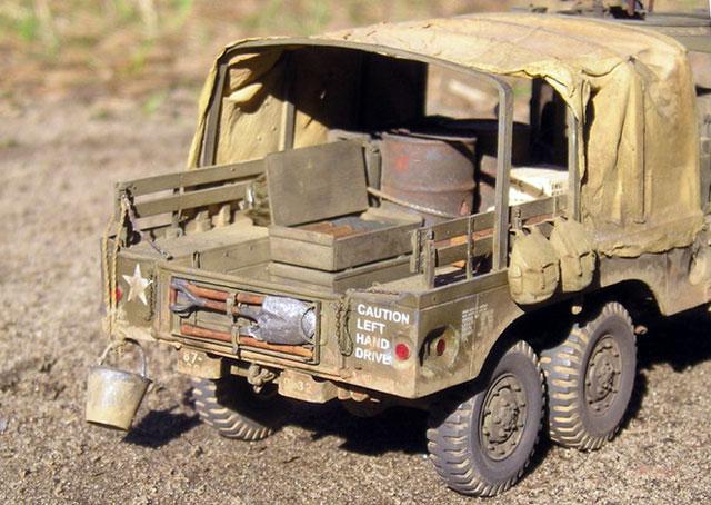 Dodge WC63 Truck by Krzysztof Pawlik (AFV Club 135)