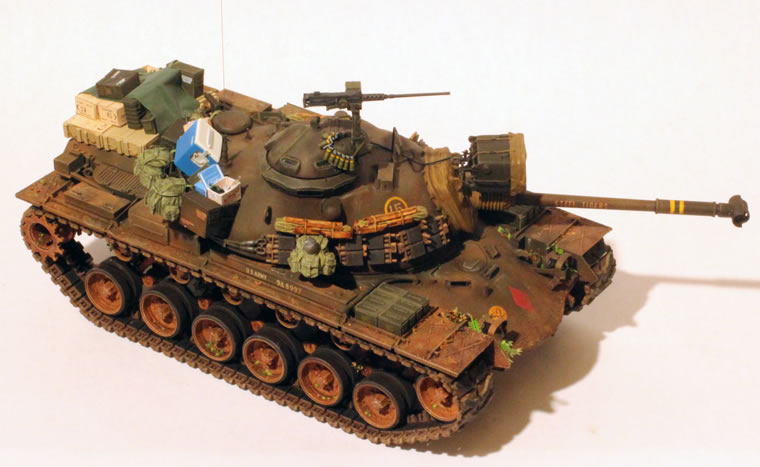 Best Way To Paint Tank Tracks
